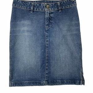 Silver Jeans Denim Skirt Womens Size 28 Cotton